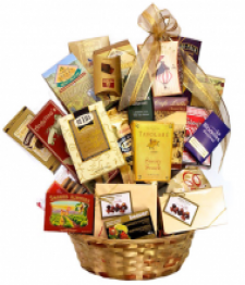 Gourmet Delight Gift Basket